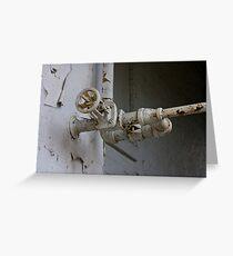 Plumbers Dream Greeting Card