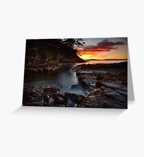 Tinderbox Sunrise, Tasmania #2 Greeting Card