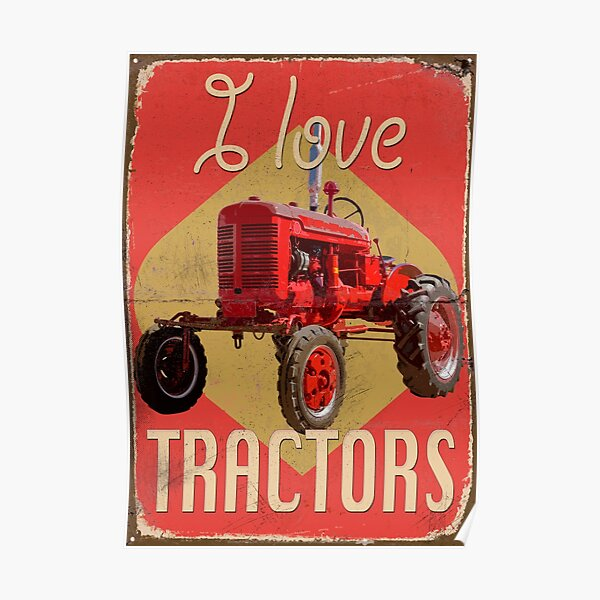 TractorPosterFA_01a Poster