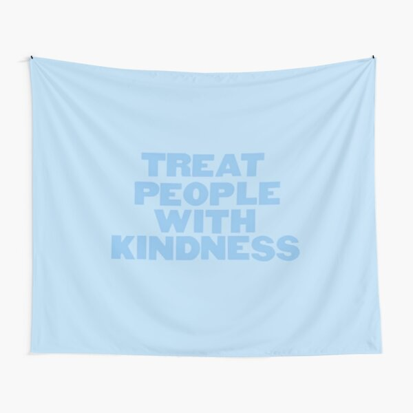 """Harry Styles """"Treat People With Kindness"""" Blue Tapestry"""