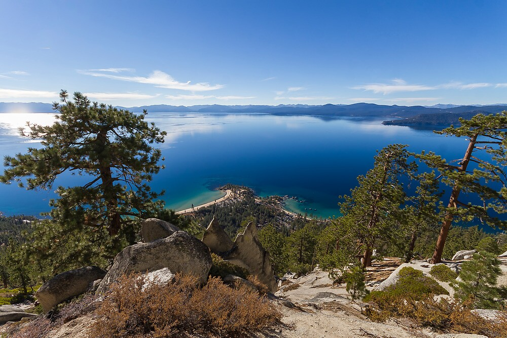 Sand Harbor from the Flume II by Richard Thelen