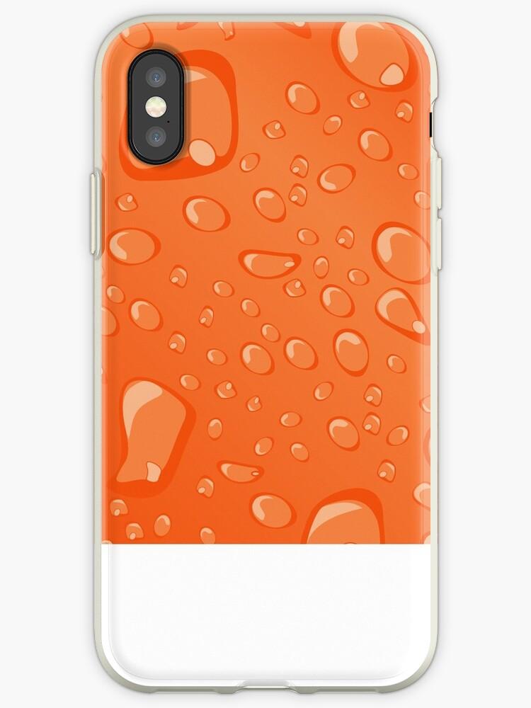 Water Droplets Orange by djvinnyvector