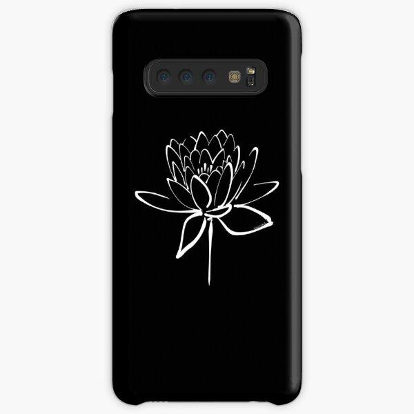 Lotus Flower Calligraphy (White) Samsung Galaxy Snap Case