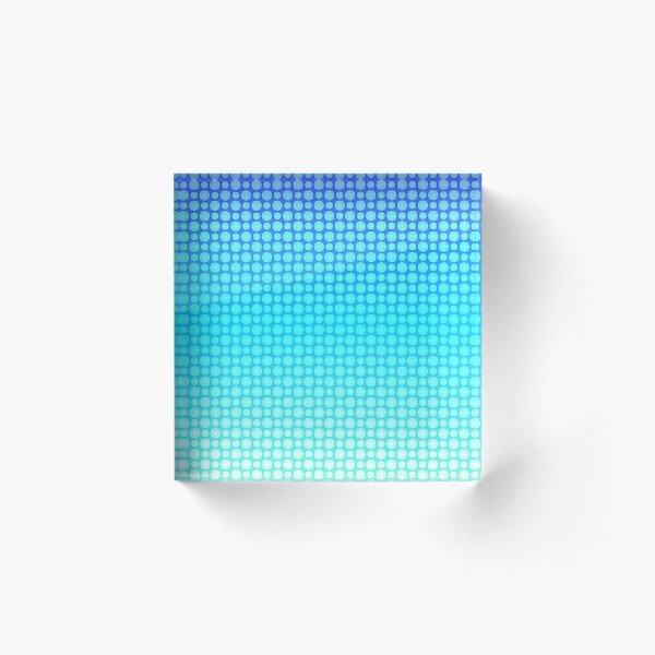 Aqua Acrylic Block