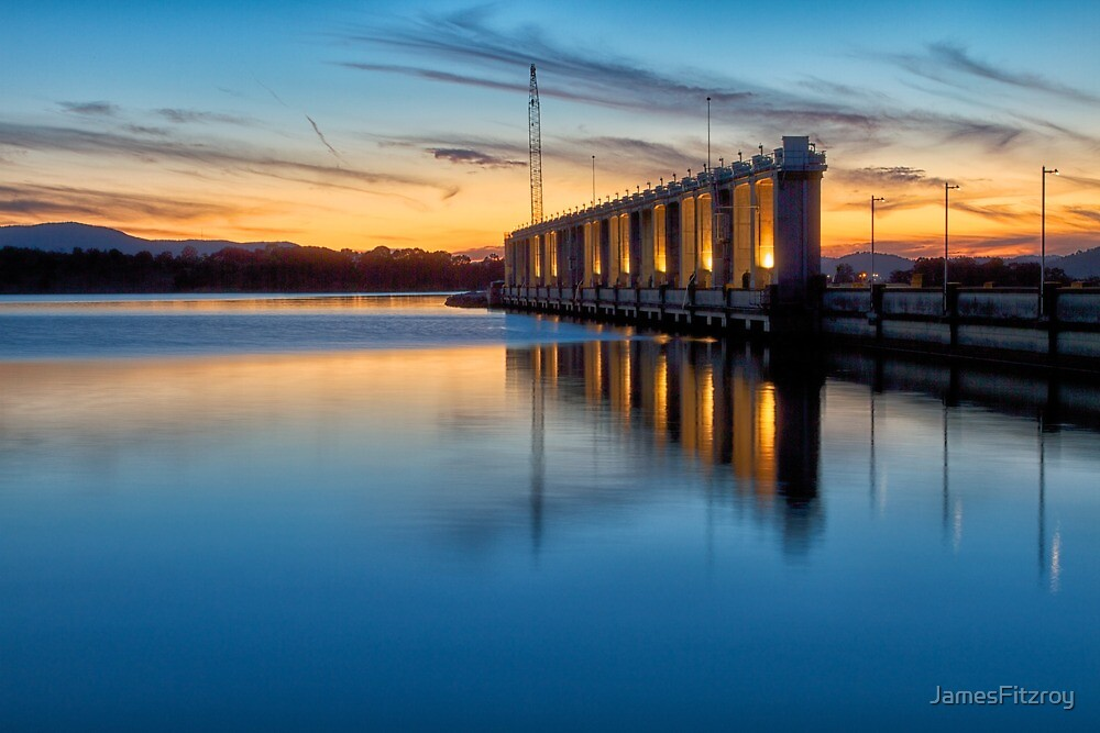 The Hume Dam by JamesFitzroy