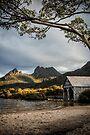 Dove Lake Boatshed by Mieke Boynton