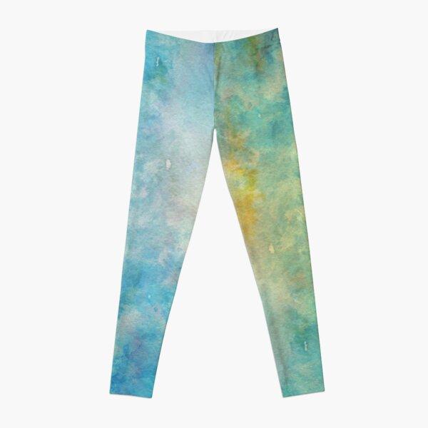 Sky Watercolor Leggings