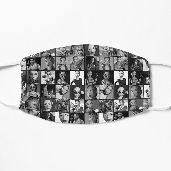 Bunch of Laras [B&W] Flat Mask