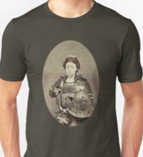 Japanese Kabuki Samurai Woman Unisex T-Shirt
