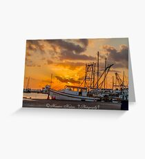 Sonrise greeting cards redbubble sonrise boats greeting card m4hsunfo Images