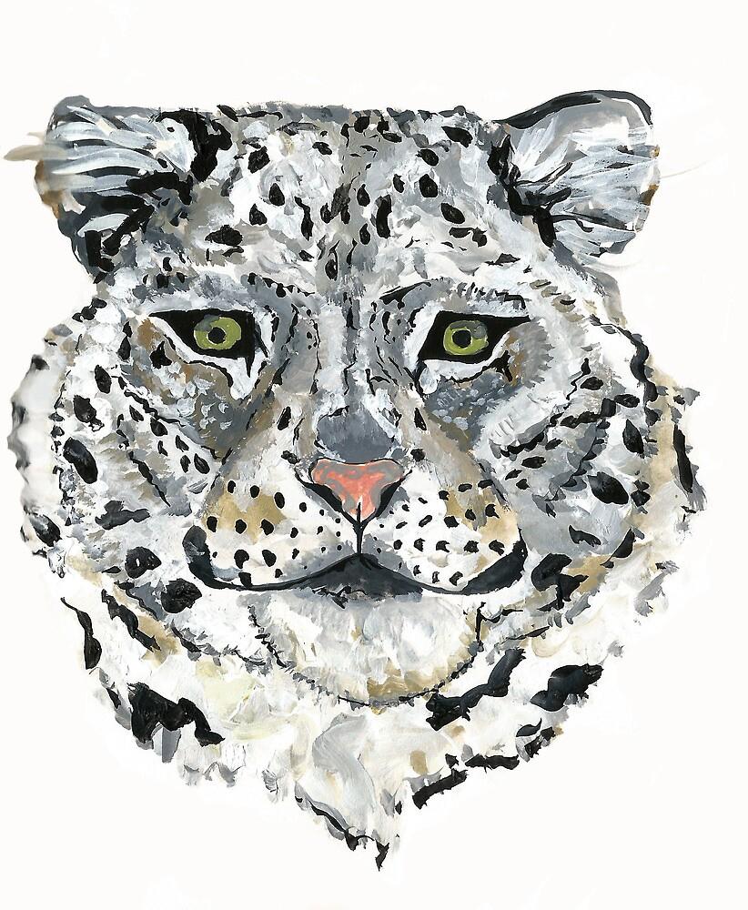 Snow leopard  by Rosalie20