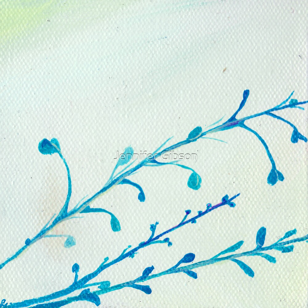 Blue Stems by Jennifer Gibson