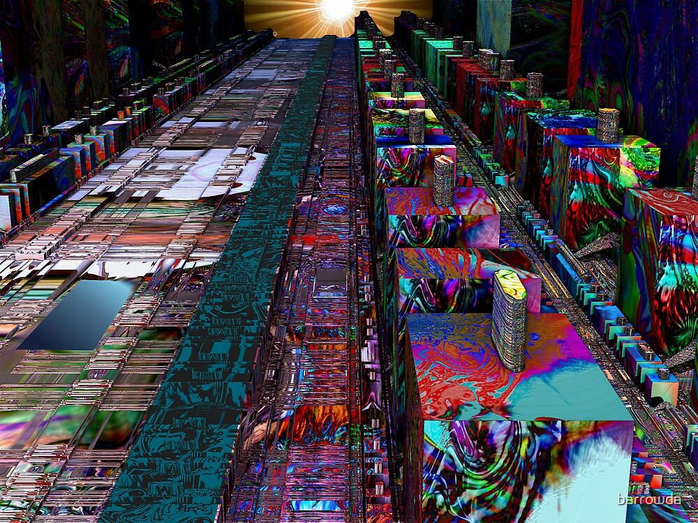 Steel City Sunrise by barrowda
