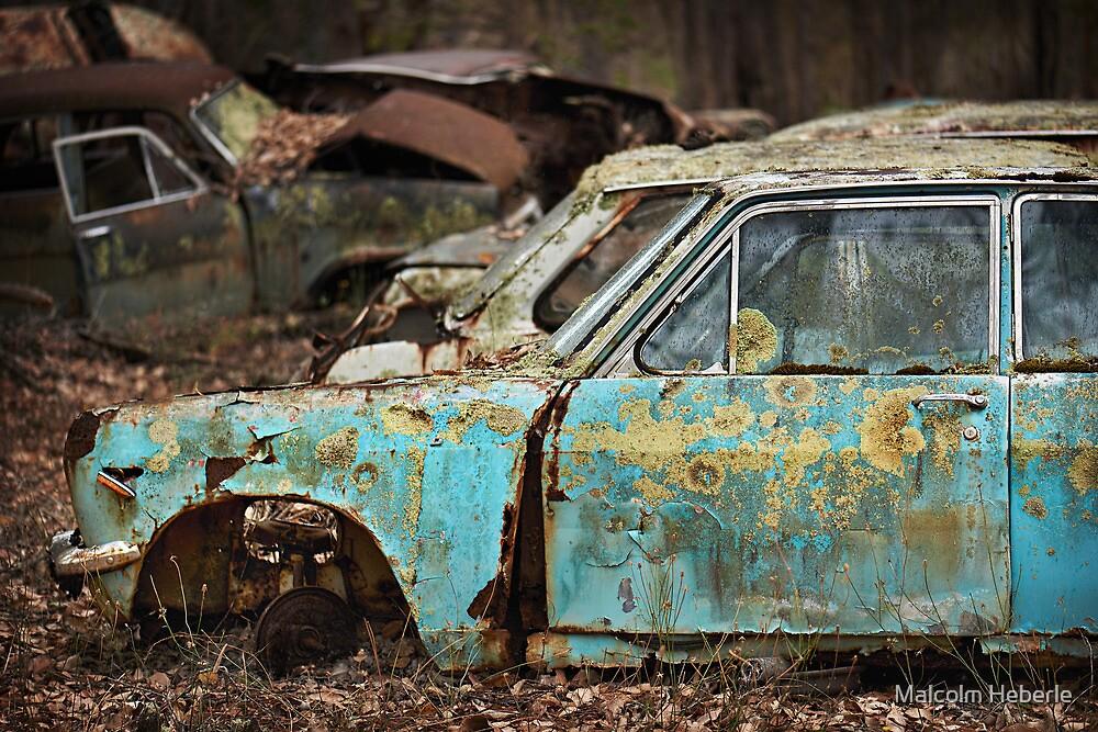 Automotive Graveyard #09 by Malcolm Heberle