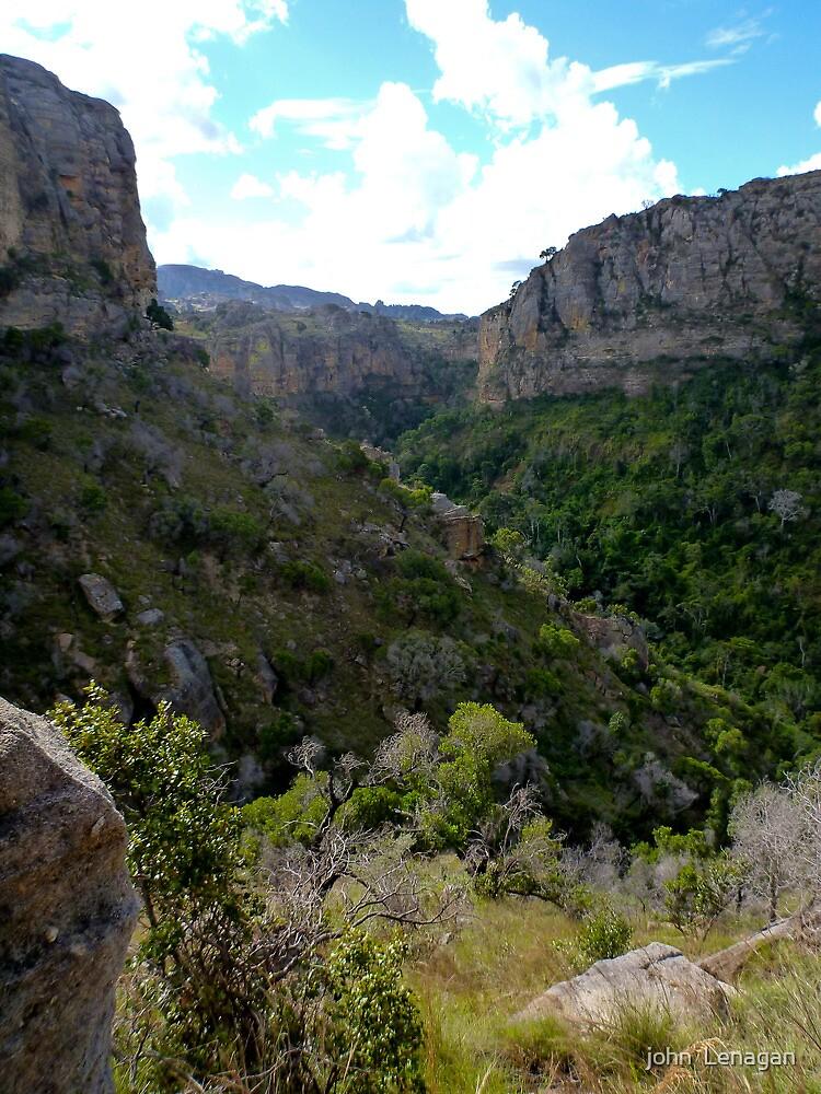 One of the Deep gorge  @  Isalo NP Madagascar by john  Lenagan
