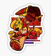 TY THE TASMANIAN TIGER Sticker
