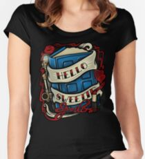 Hello Sweetie (T-shirt) Women's Fitted Scoop T-Shirt