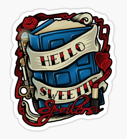 Hello Sweetie (T-shirt) Sticker