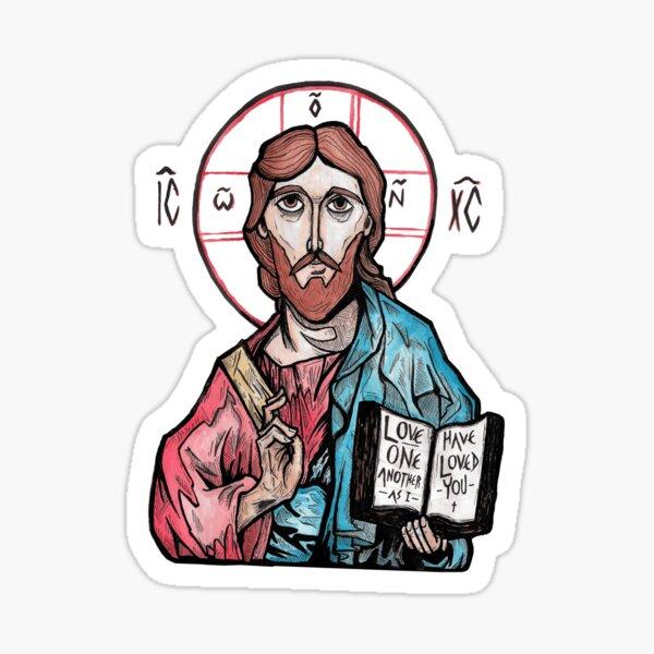 Christ Pantokrator Sticker