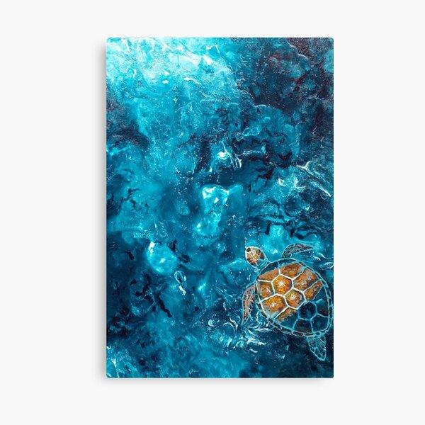 Turtle Breath Canvas Print