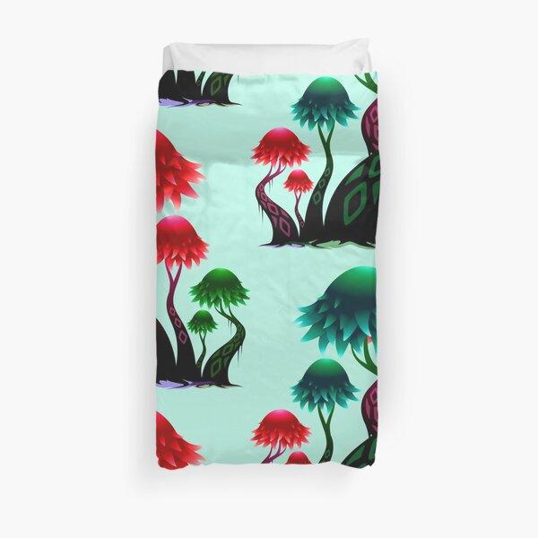 Mushroom Kingdom Duvet Cover