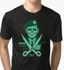 Scissors 61 Tri-blend T-Shirt