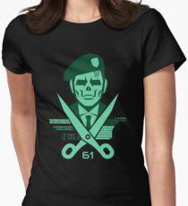 Scissors 61 Womens Fitted T-Shirt