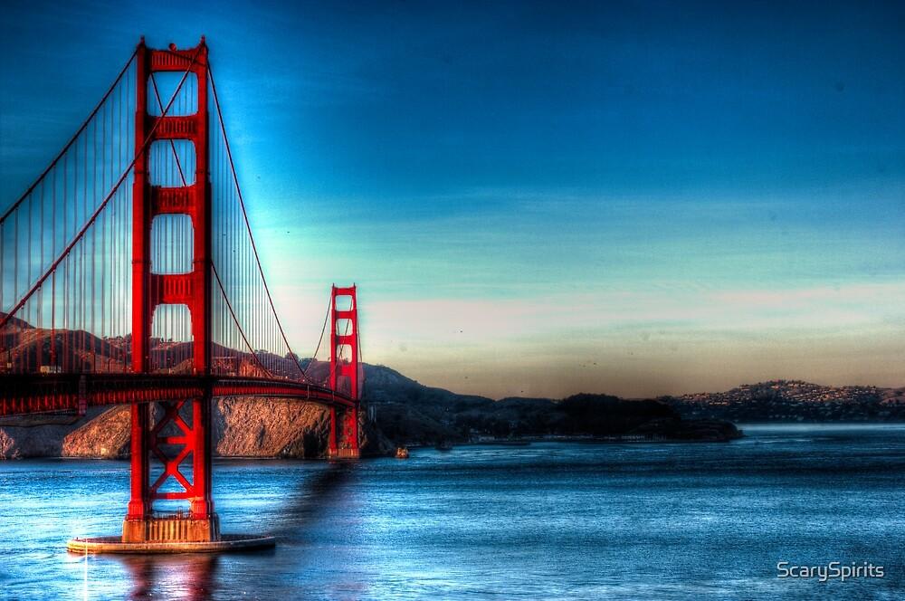 Golden Gate Bridge by ScarySpirits