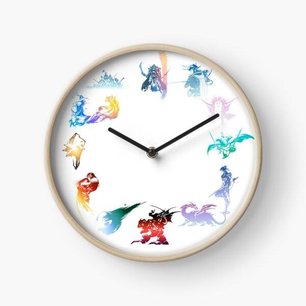 final fantasy logo Clock