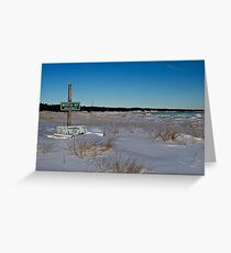 Whitefish Bay Unincorporated Greeting Card
