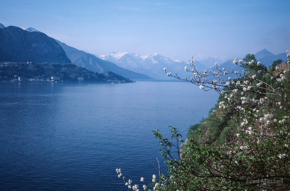 Como towards Bellagio Italy 19840424 0054m by Fred Mitchell
