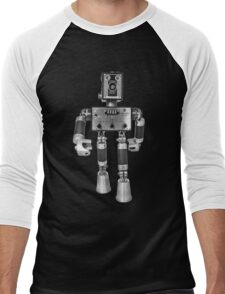Adopt-A-Bot  Robot #2 Men's Baseball ¾ T-Shirt