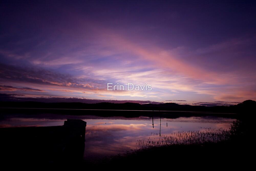 Merimbula Lake ... by Erin Davis