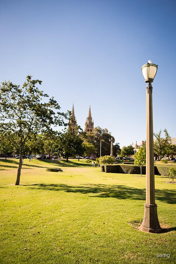 Adelaide parklands by samg