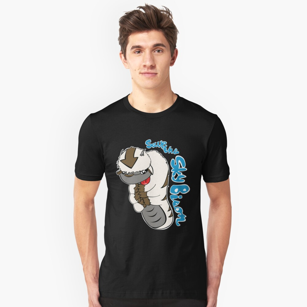 Save The Sky Bison Unisex T-Shirt Front