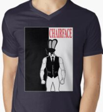 The Tick chairface scarface Mens V-Neck T-Shirt