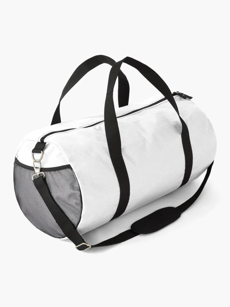 Alternate view of Corgi and Bubble Tea  Duffle Bag