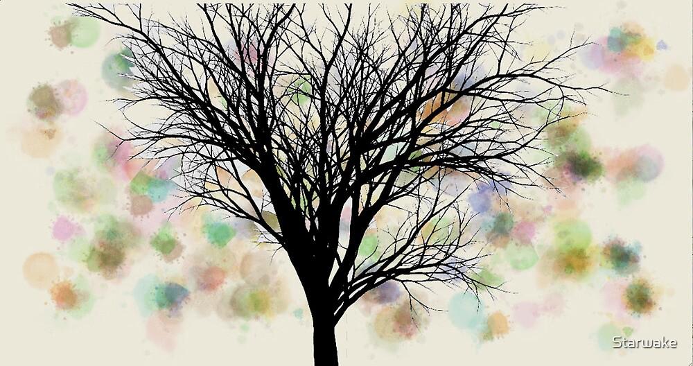 Splotchy Tree by Starwake