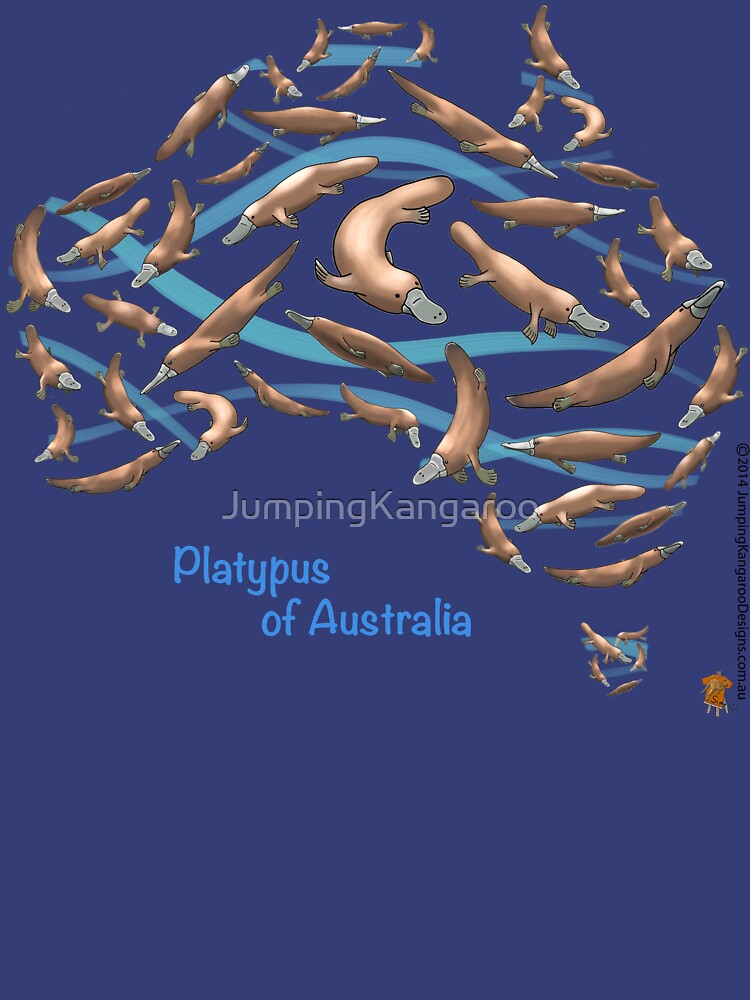 Platpypus Australia Map by JumpingKangaroo