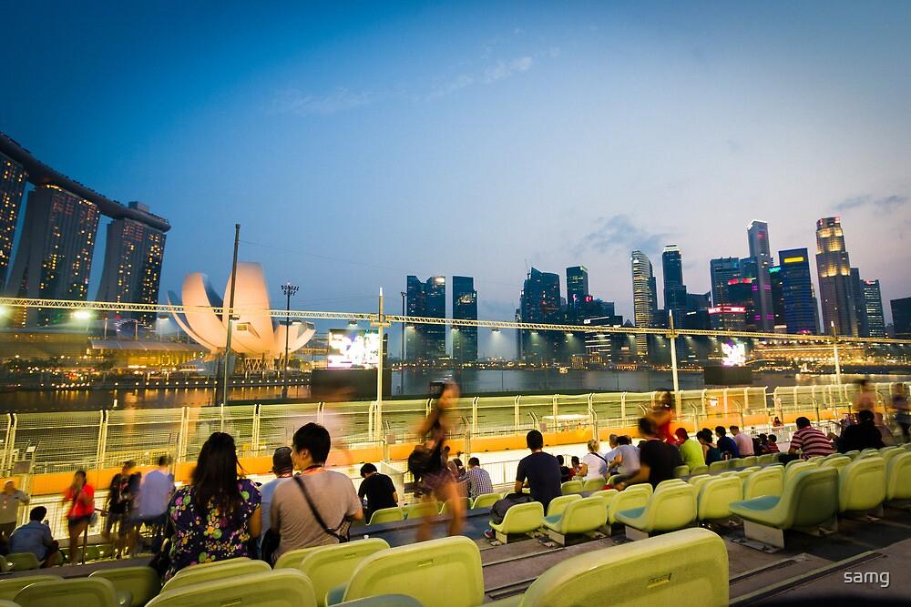 Marina Bay, Singapore by samg