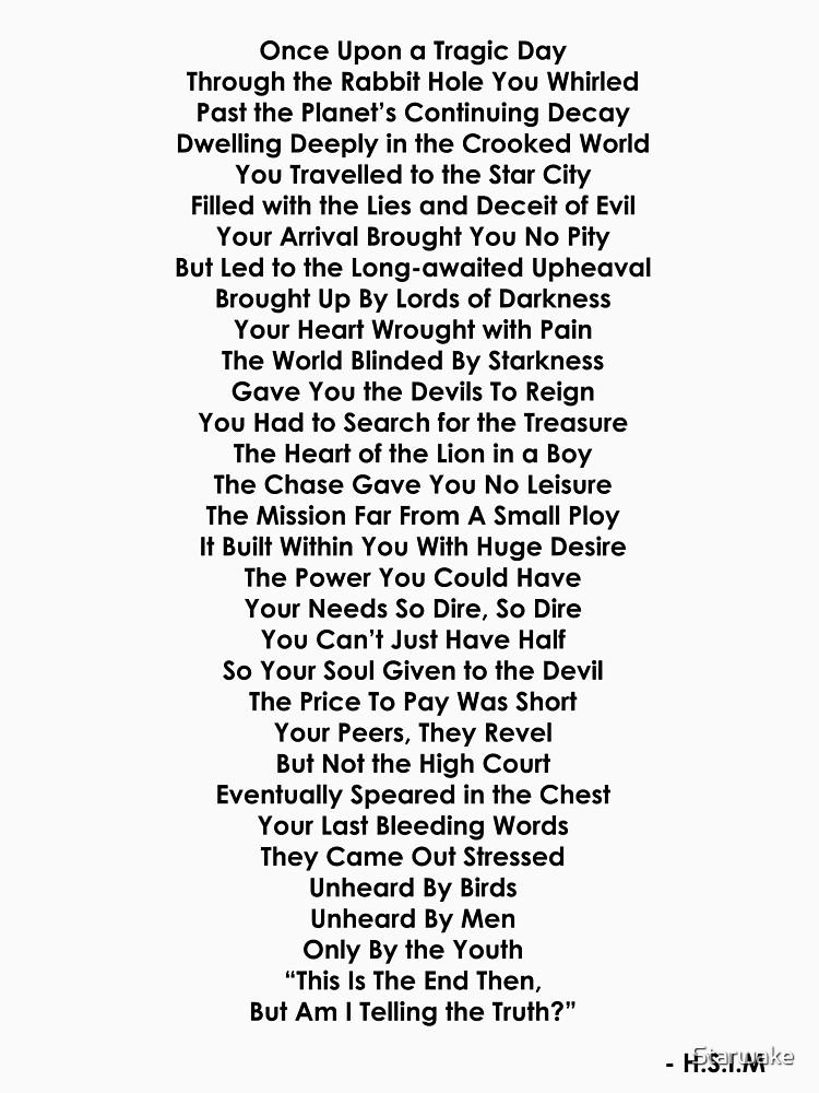 Devil's Poem by Starwake