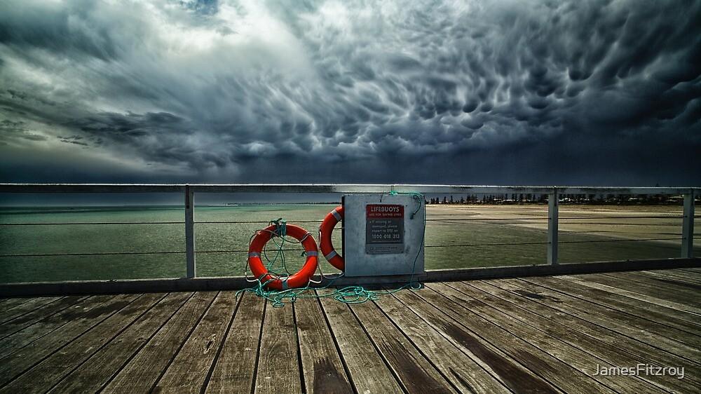 Summer Thunderstorm by JamesFitzroy