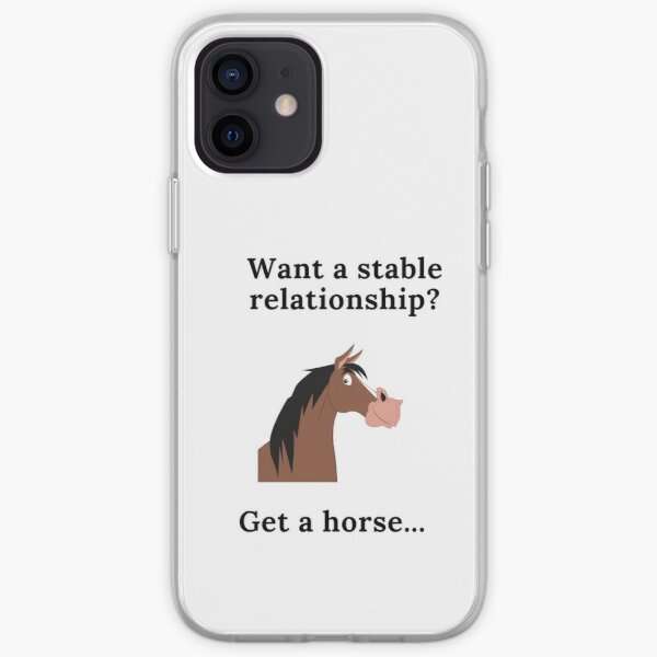 Stable Relationship iPhone Soft Case