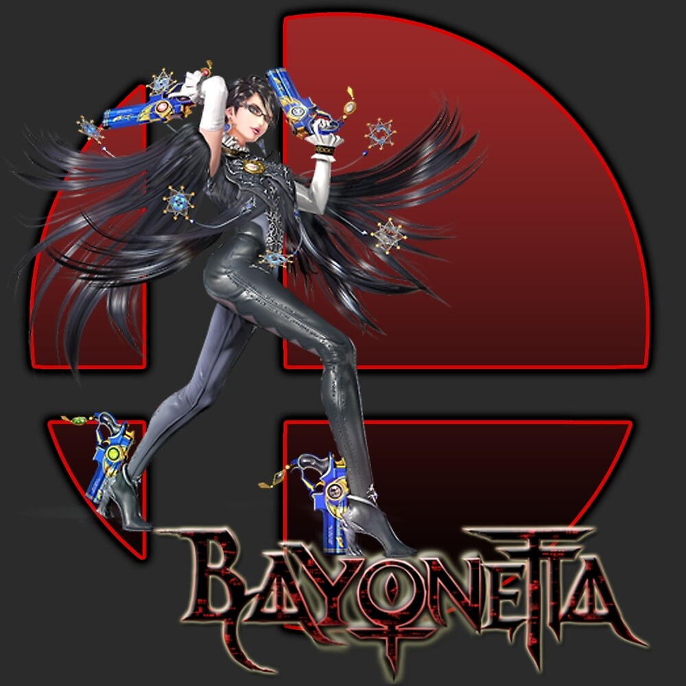 Bayonetta Joins the Sm4sh! by ciccioDeeamci