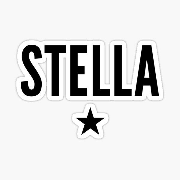 Stella is a Star Sticker