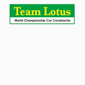 Team Lotus 2 by scuderiaacero