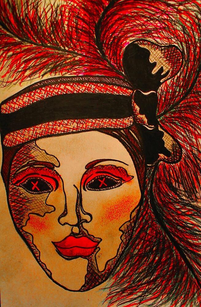 Masquerade Woman by Amber Batten