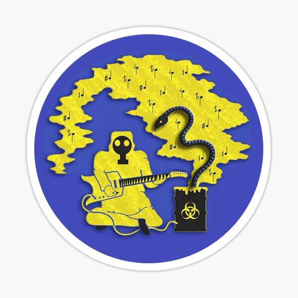 King Gizzard Lizard Wizard Microtonal Banana Album Cover Sticker