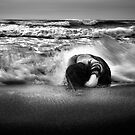 covered waves by Komang
