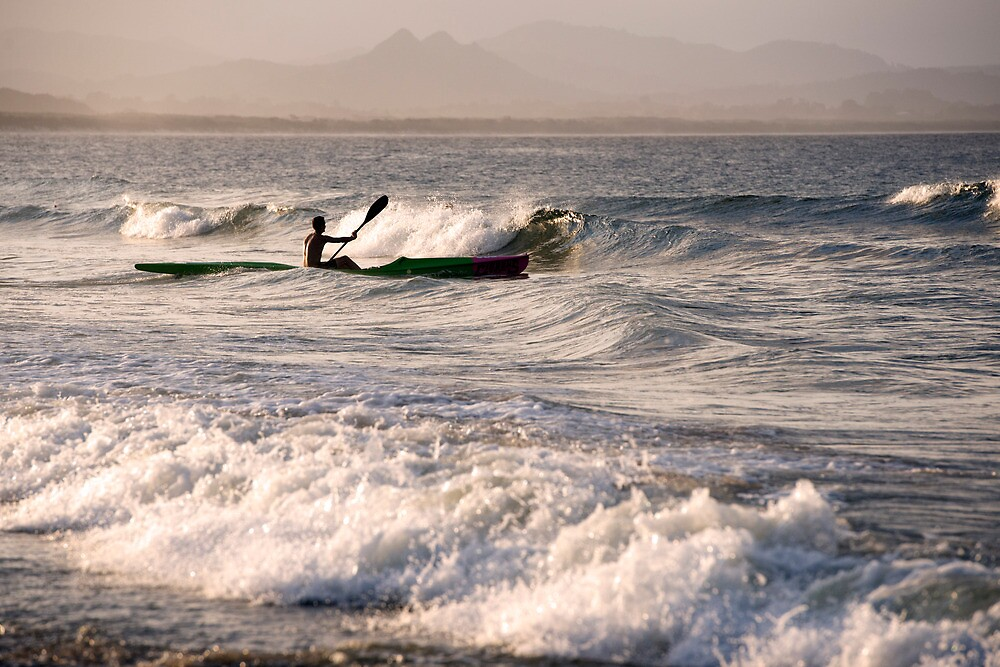 Paddling Out by Jenny Dean